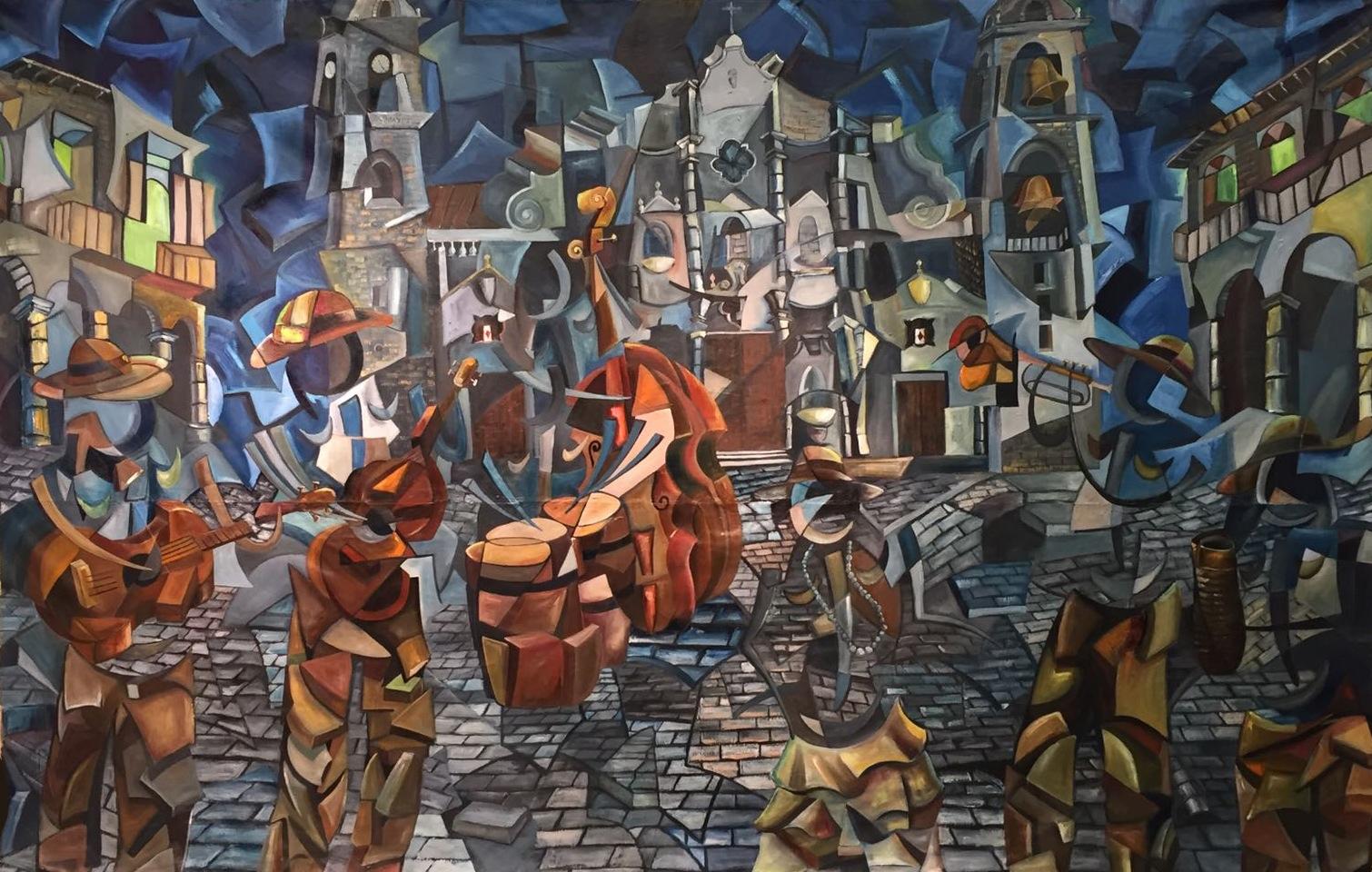 20496922-Leiva,The Celebration, Oil on canvas, 2017, $1,000,000.jpg
