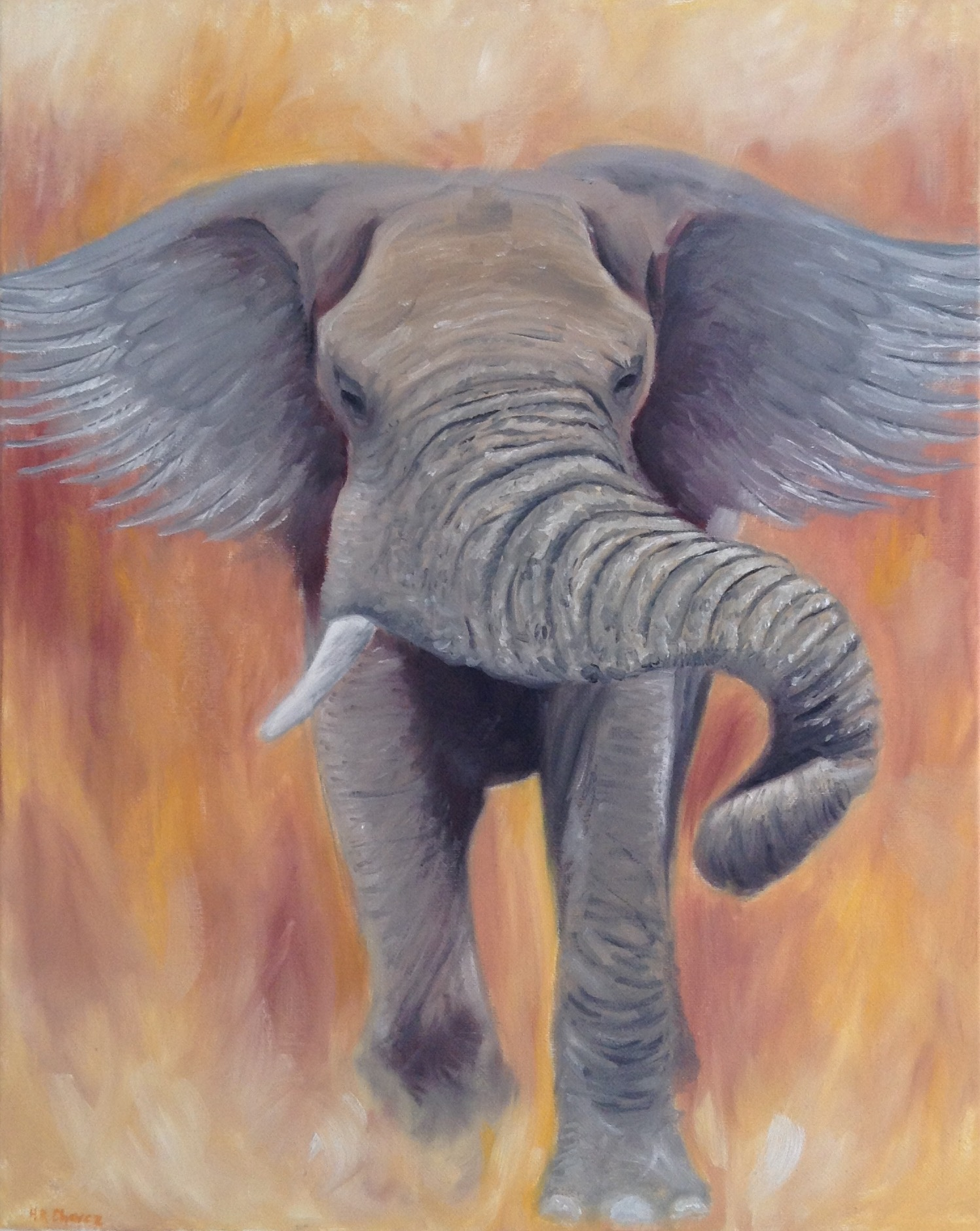 """""""Elephant Wings"""" by Hannah Chavez"""