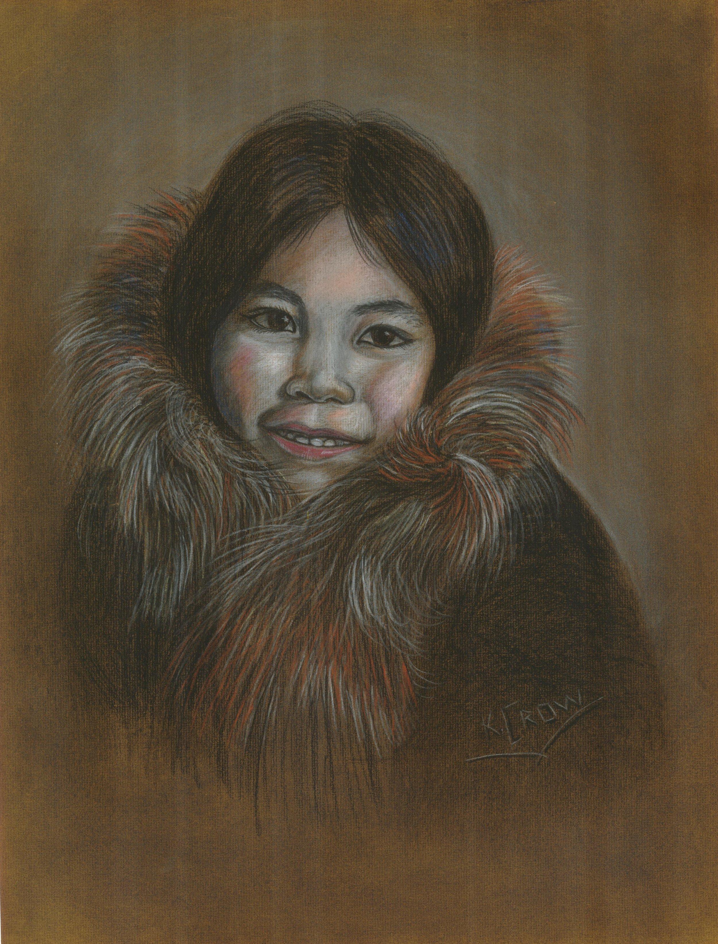 20496938-Karen Crow_Lily_Chalk Pastel,18X24 inches,$400..jpg