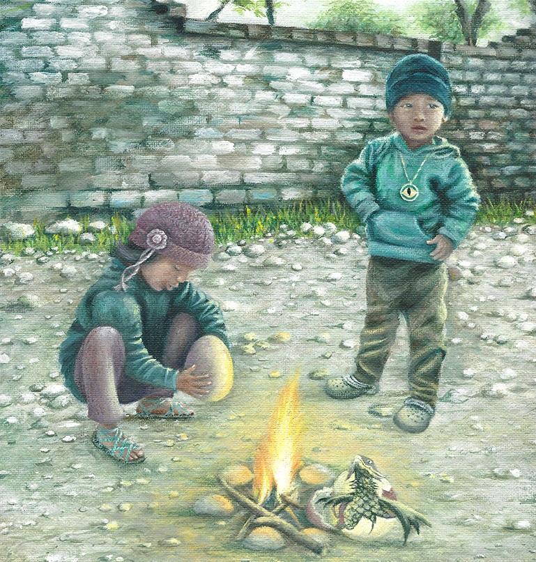 """Dragon's Birth"" by Netta Ganor"