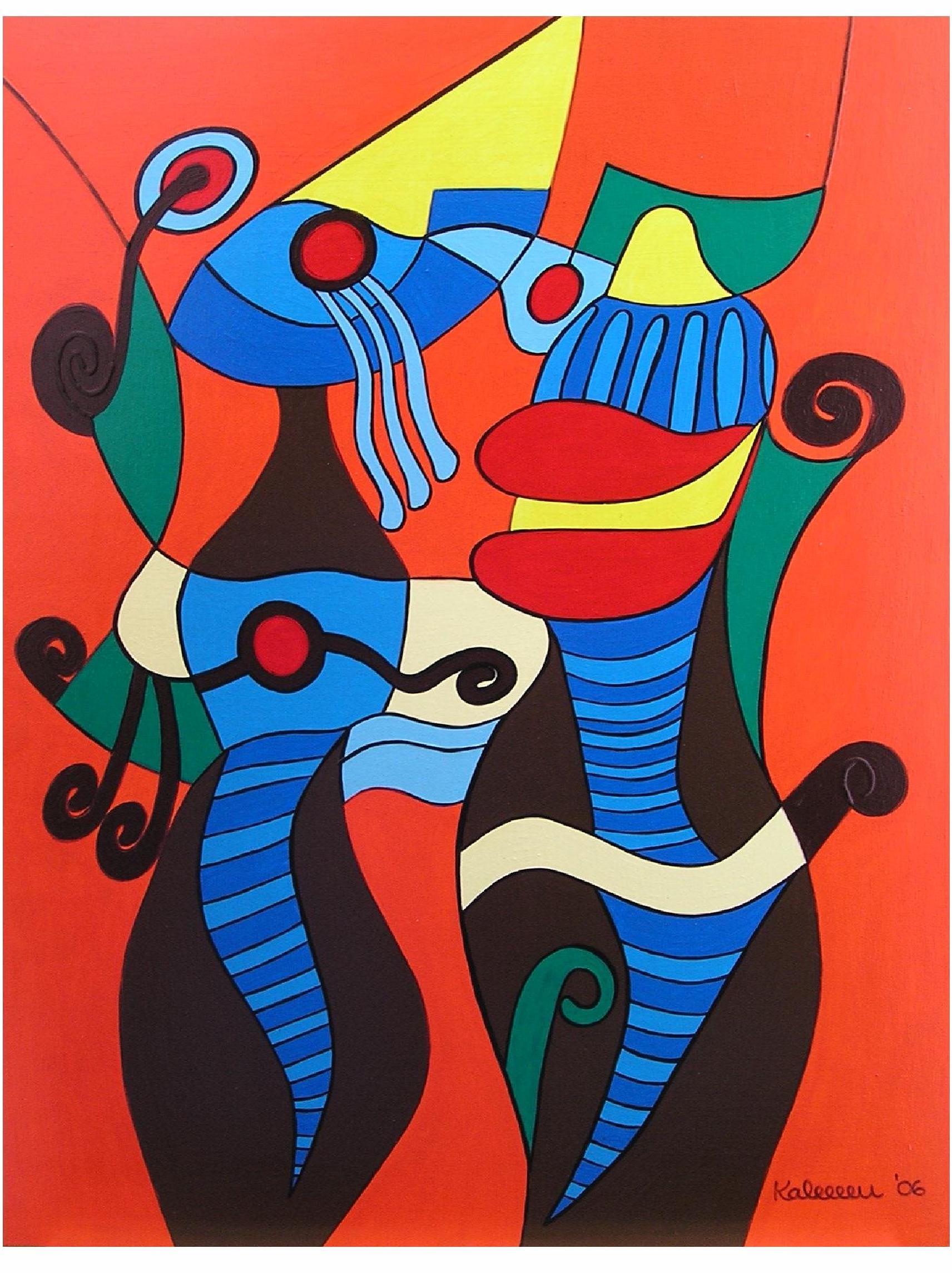 20496922-Abstract Young Couple I 60x80 wood 06_01.jpg