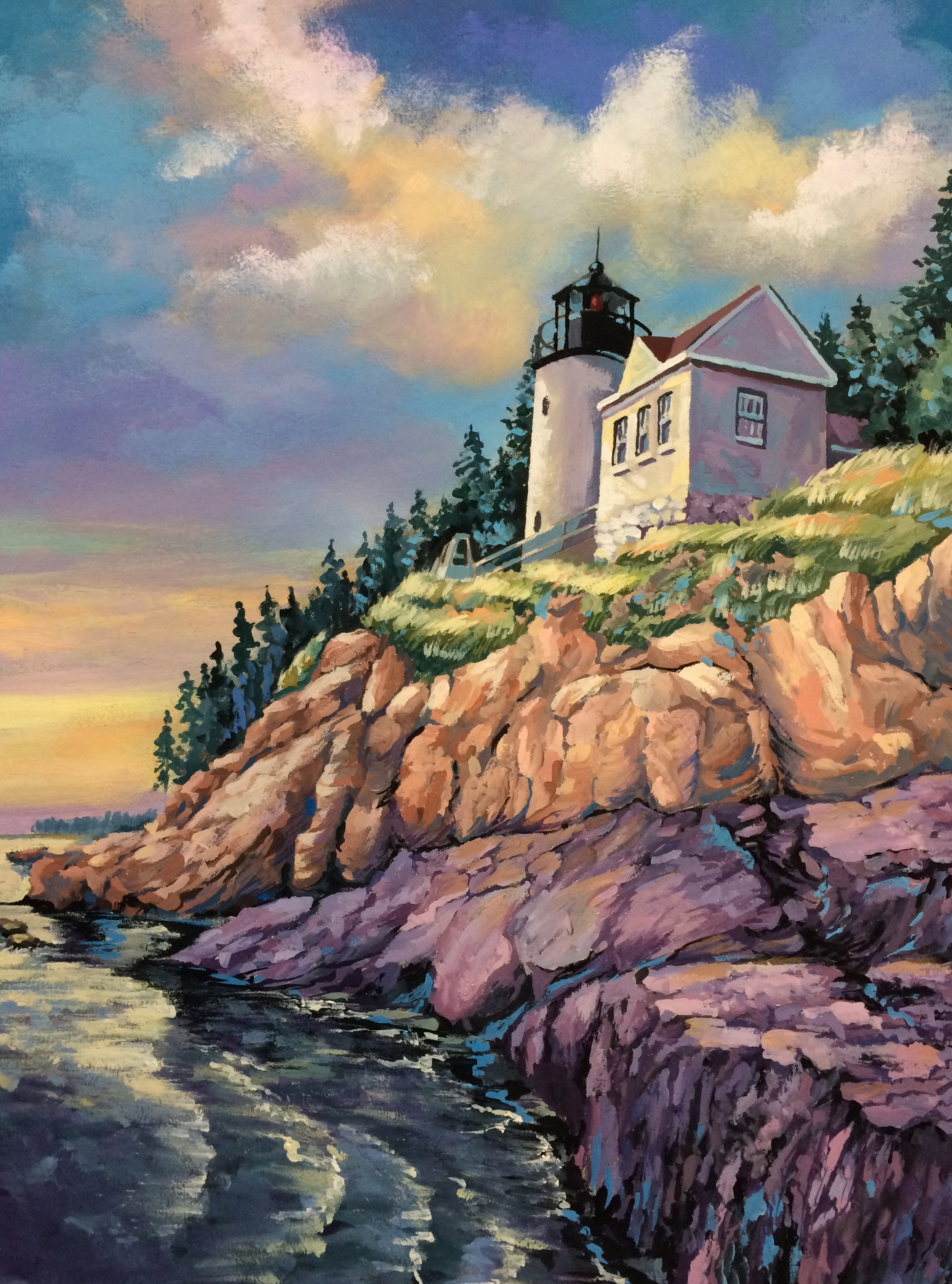 """Honorable Recognition to Tim Grant for """"Bass Harbor"""""""