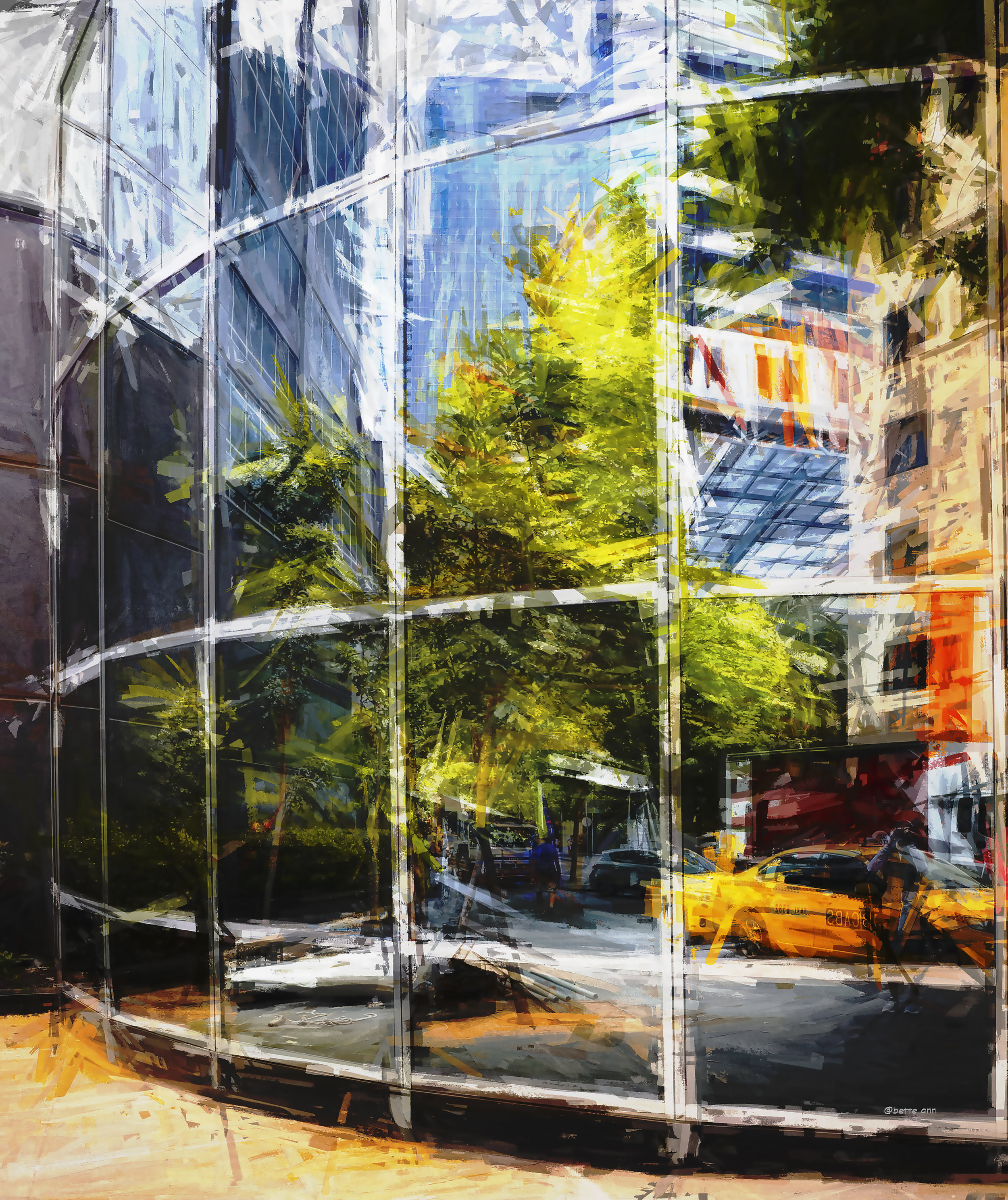 20496934-BetteLevine_reflection of a street_ digital art_30 x 28_$800_2018 .jpg