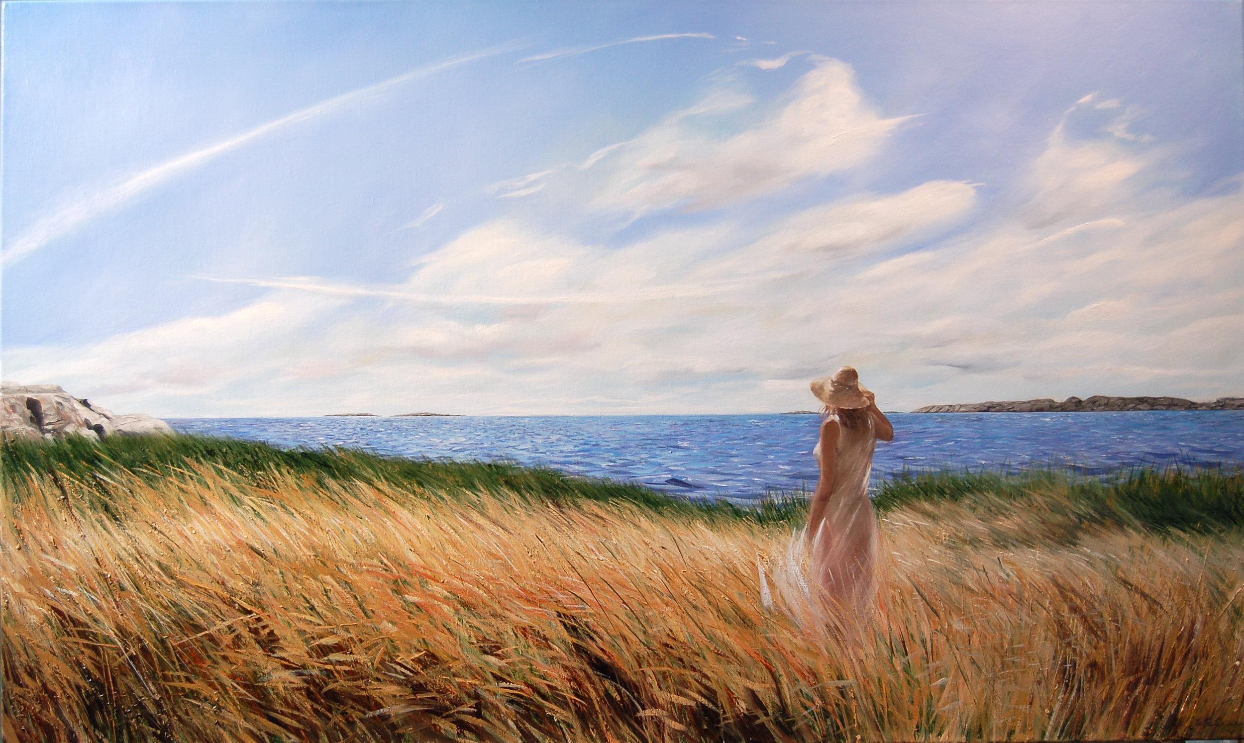 20496934-Jon B. Paulsen. Towards Kløvningen. Oil on Canvas. 32 x 43.3 in Printprice 100$..jpg