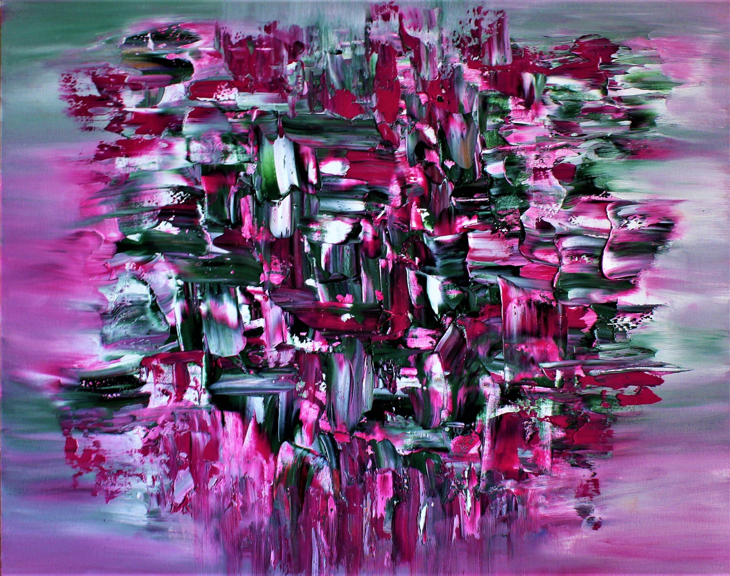 20496930-HannaSupetran, La Vie En Rose, Oil on Canvas, 24x30, 1430.jpg