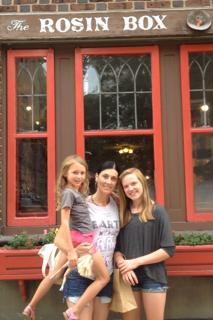 sasha (my daughter) christine & sofie