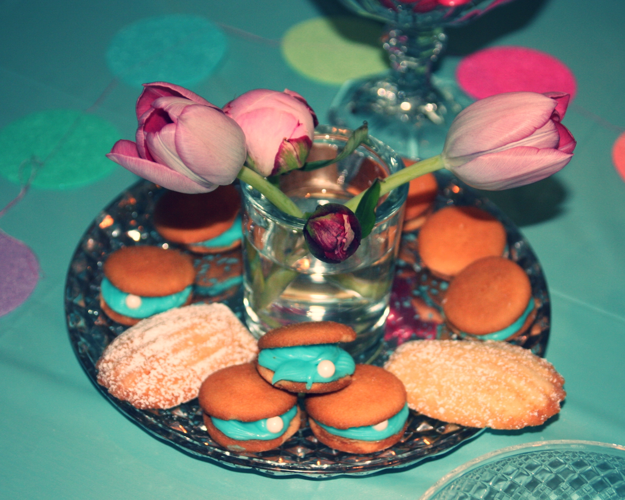 clam & madeline cookies by the PINK HATTER