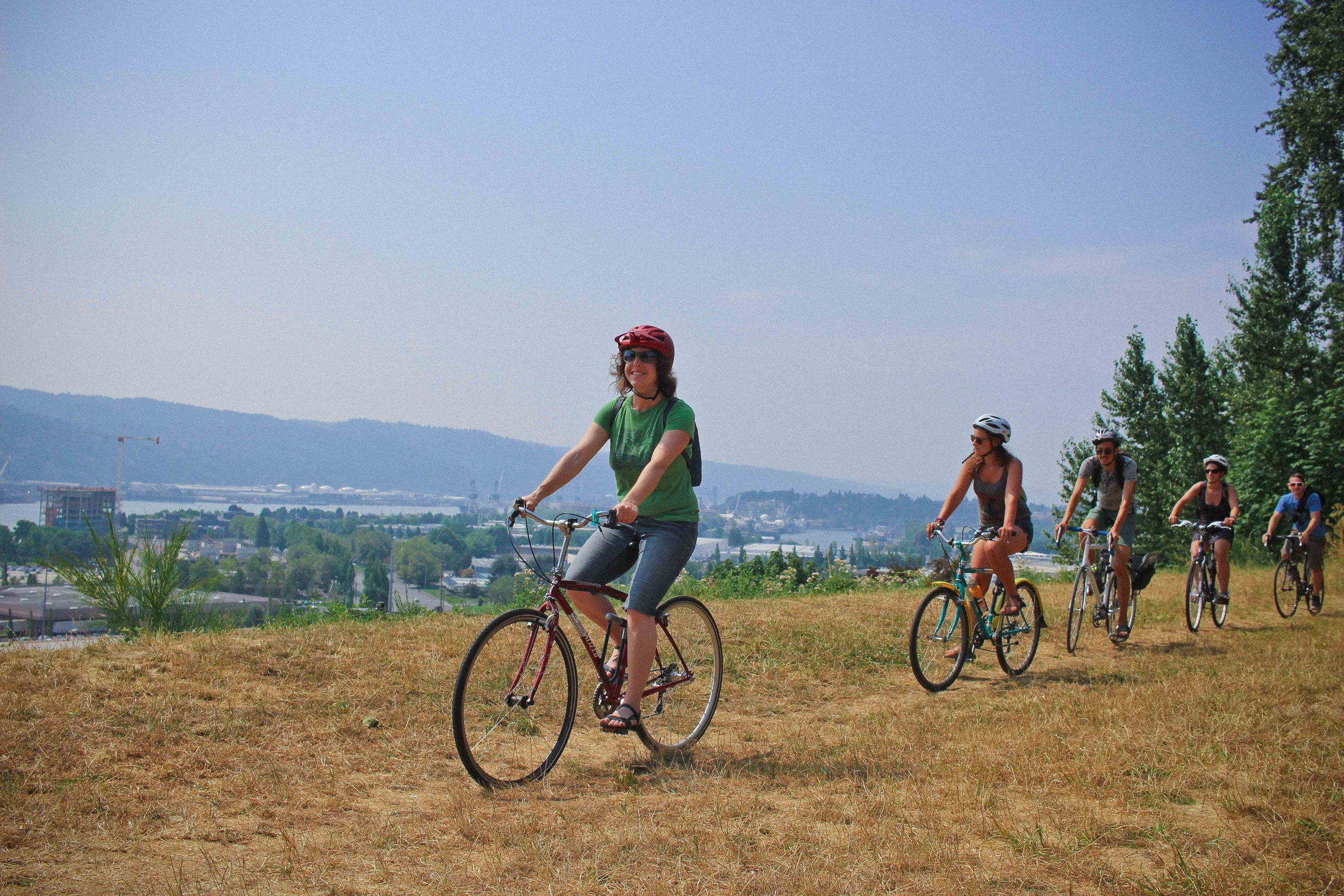 portland bike tours