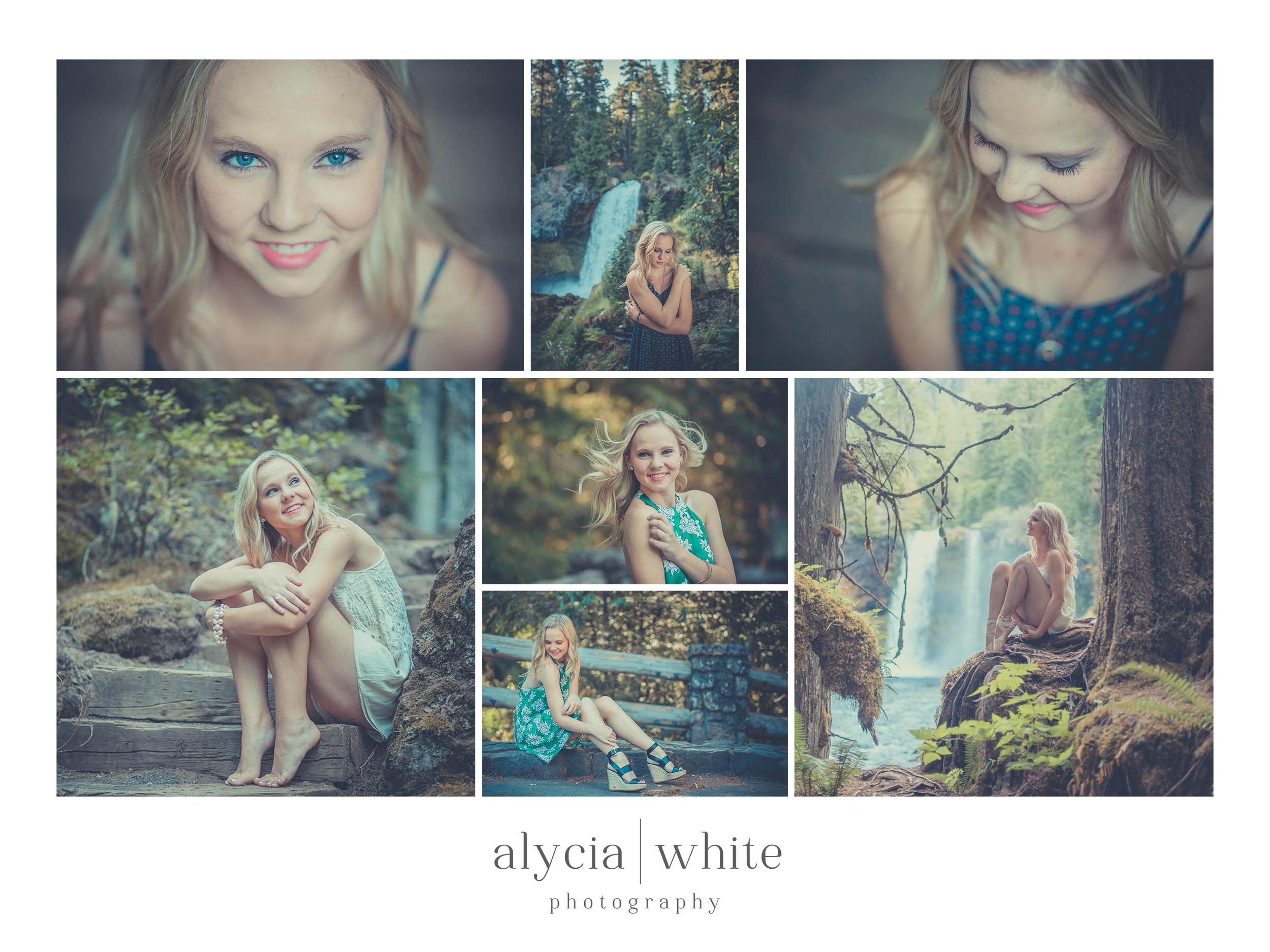 Alycia White Senior Photography Redmond Oregon