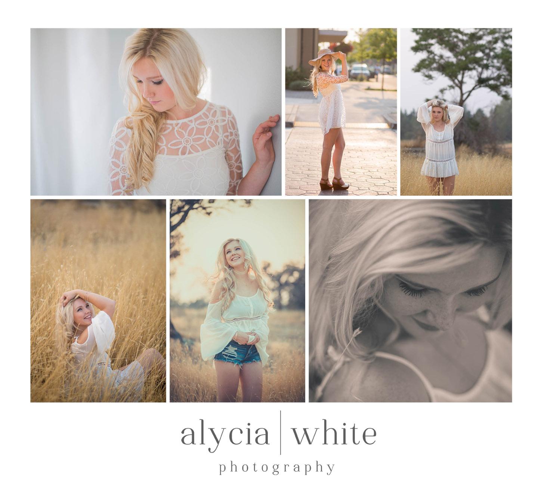 Alycia White Senior Photographer Redmond Oregon