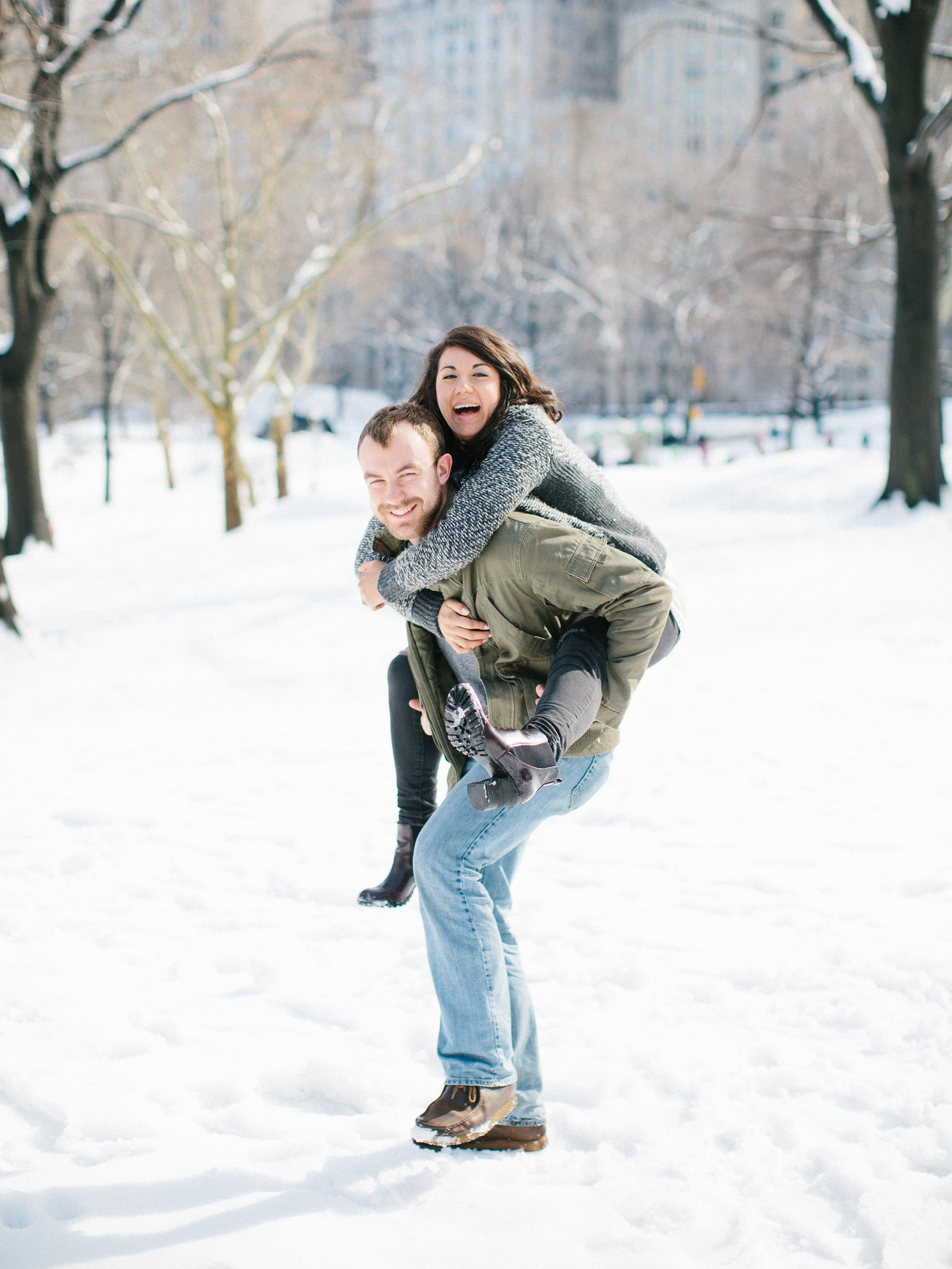 Sarah Best Photography / Meggie & Matt / NYC Central Park Engagements