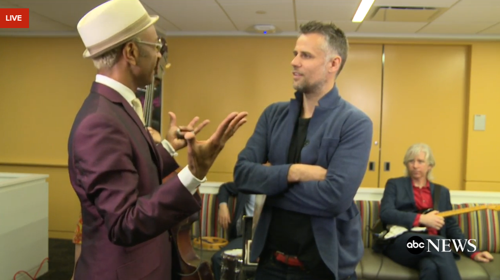 "Chatting with host Richard Bacon about why the blues appeals to people from all walks of life - with a special performance of ""Brothers' Keeper"""