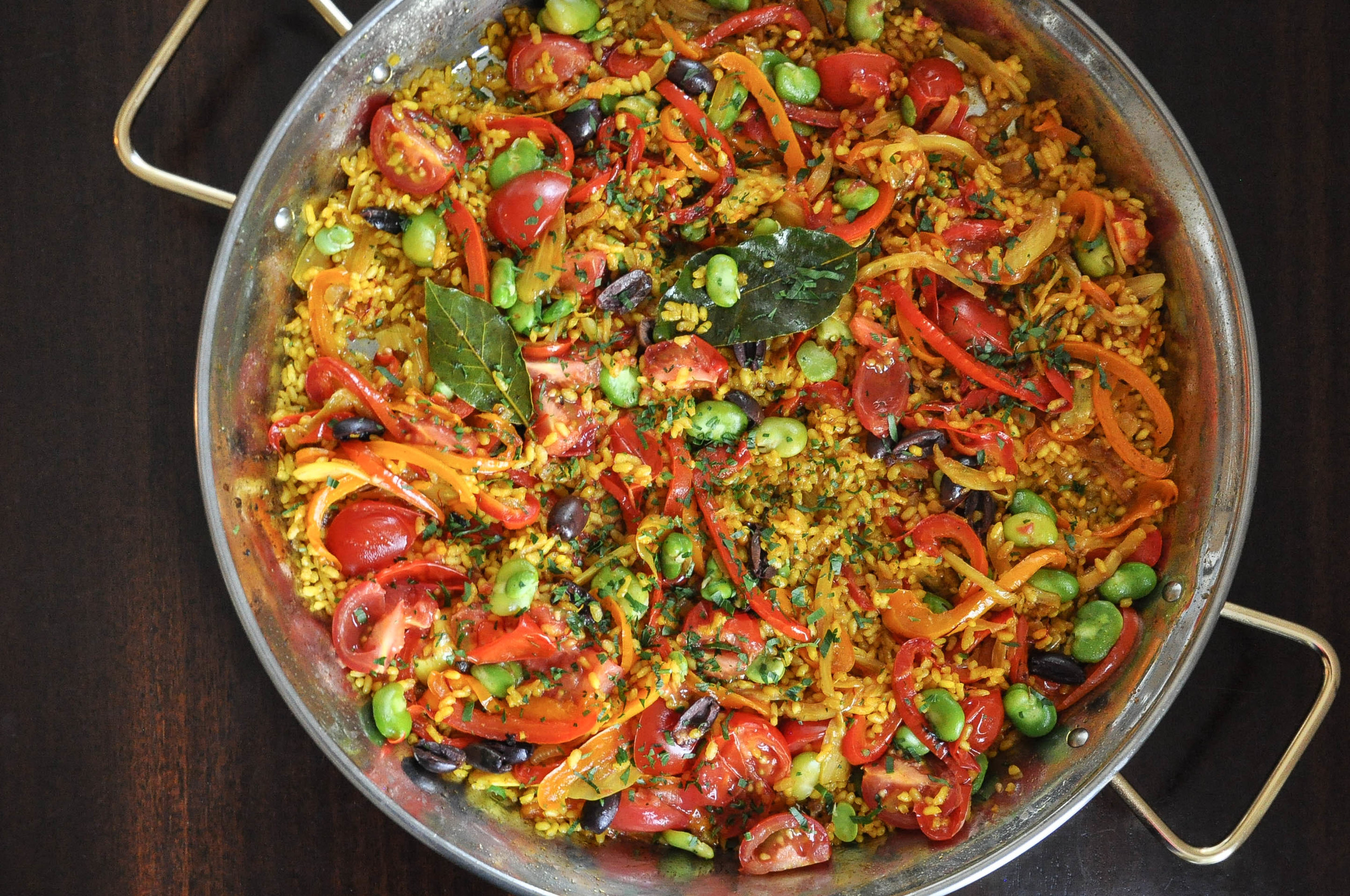 Vegetable Paella | O&O Eats