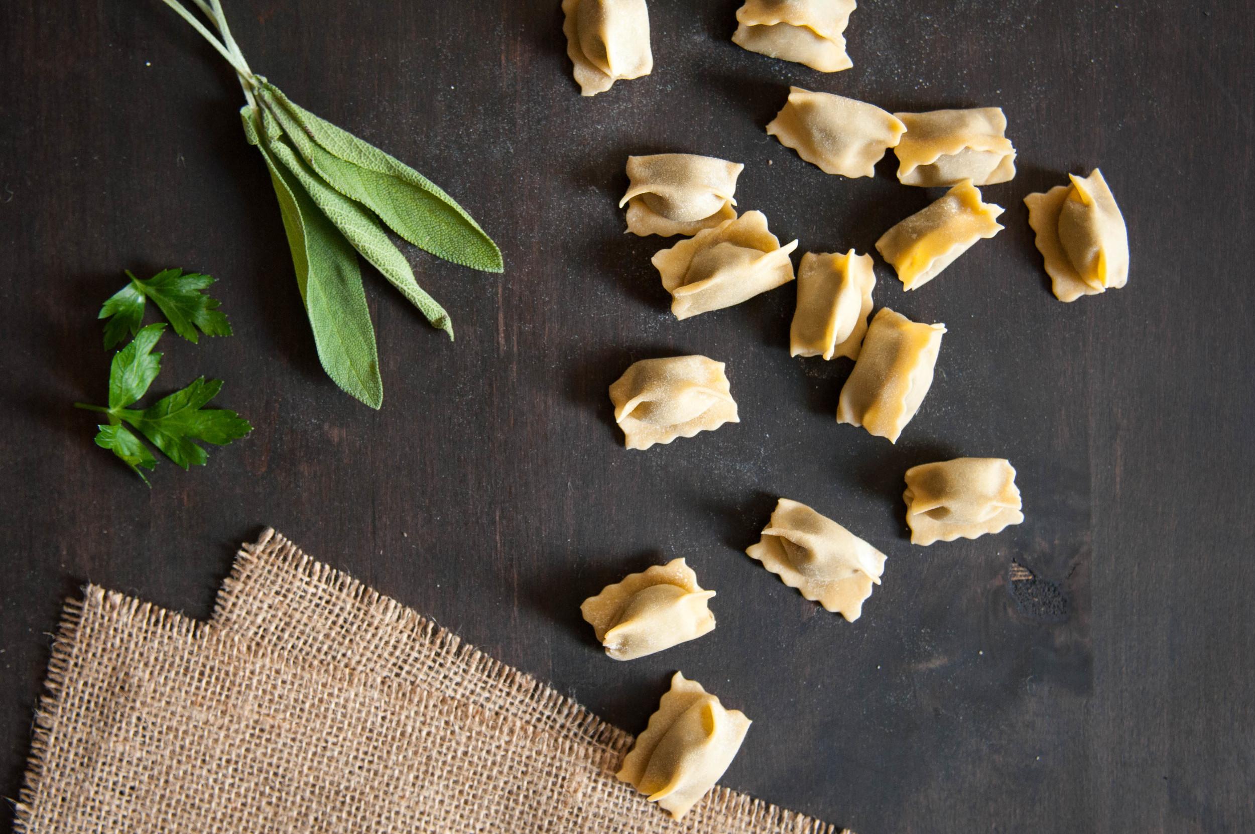 Mushroom Agnolotti | O&O Eats