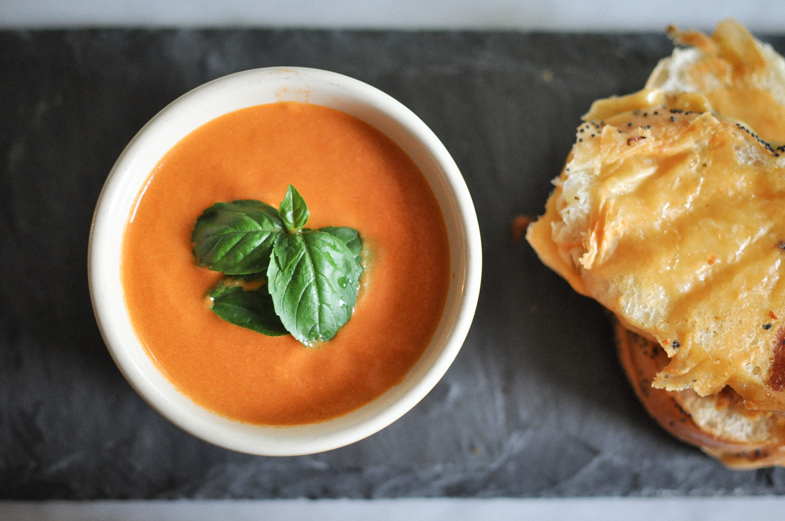 Five Ingredient Tomato Soup | O&O Eats