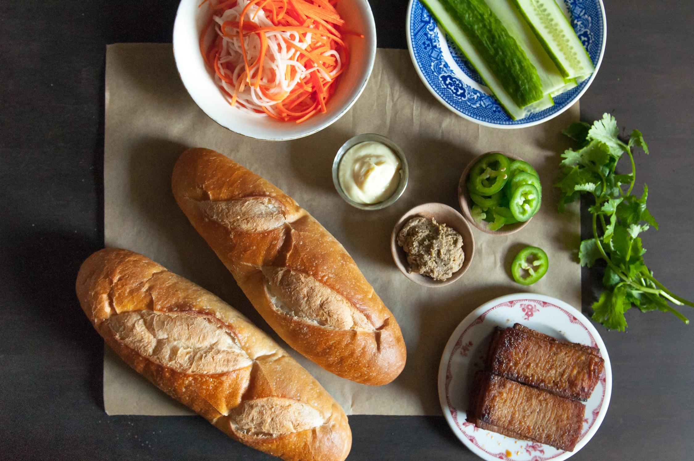 Tofu Bánh Mì Sandwiches   O&O Eats
