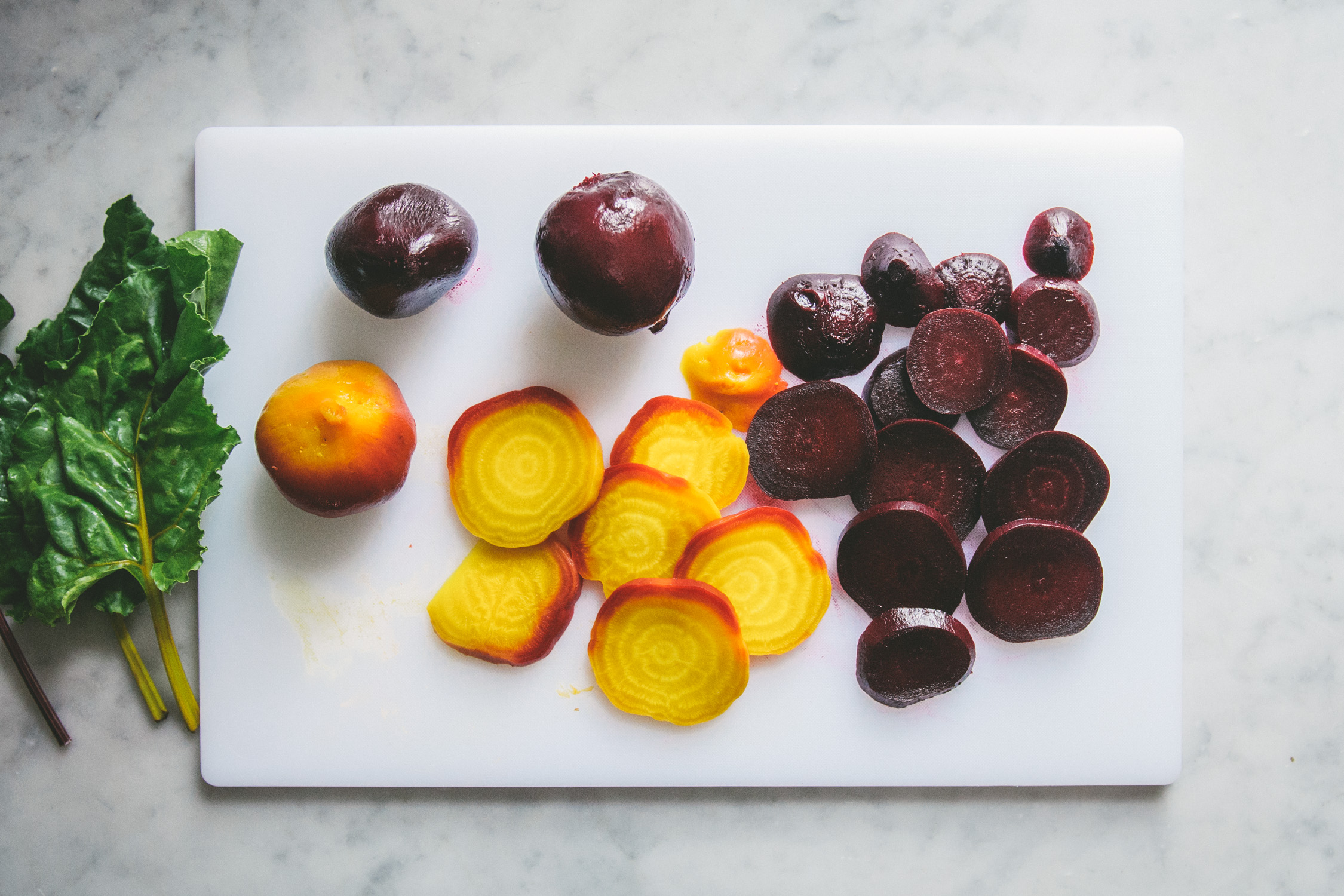 Roasted Beets with Pistachio Vinaigrette | O&O Eats
