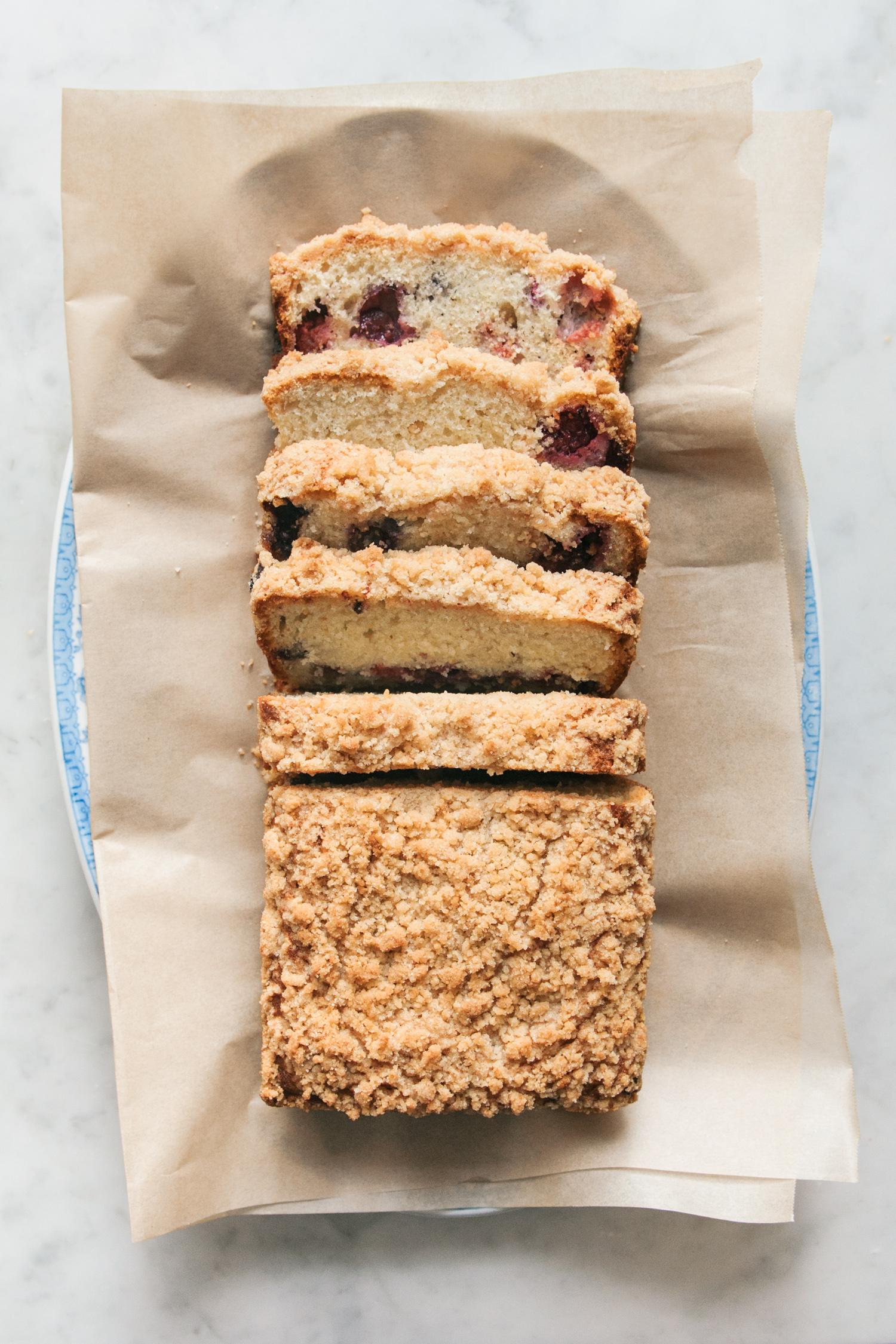 Triple Berry Coffee Cake | O&O Eats