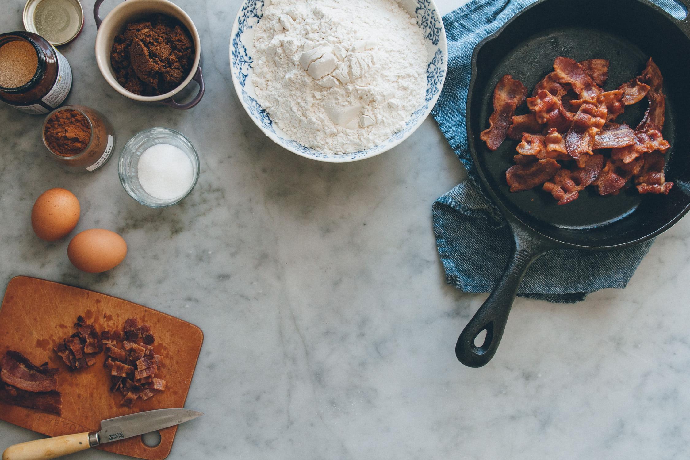Bacon Cinnamon Rolls | O&O Eats