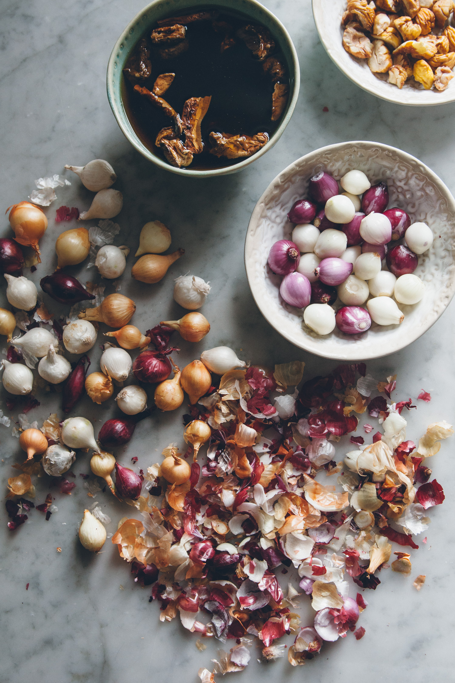 Mushroom, Chestnut, & Dumpling Soup | O&O Eats