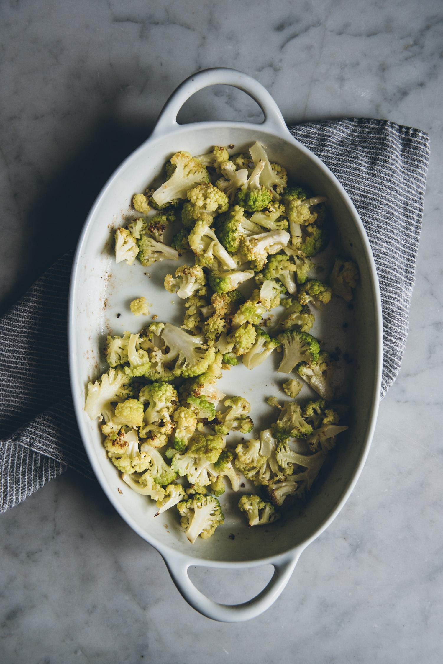 Tagliatelle with Roasted Cauliflower | O&O Eats