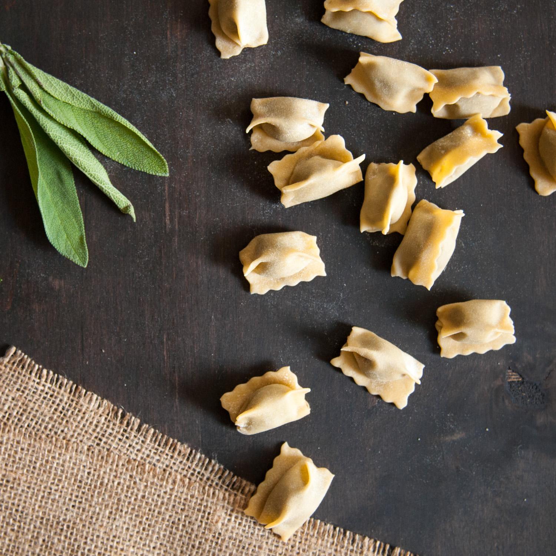 Mushroom Agnolotti