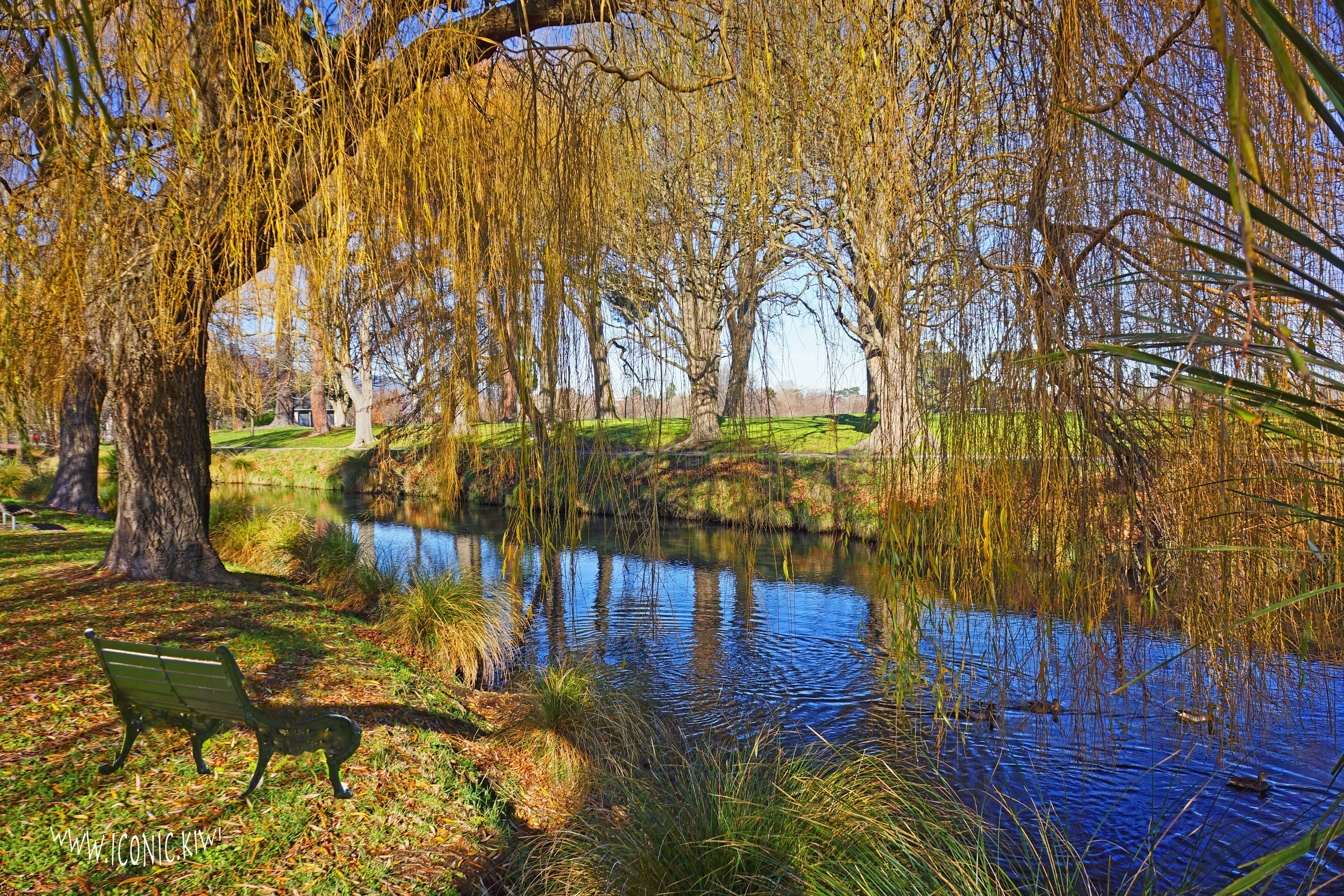 A beautiful winter's day for a meander along the River Avon in Christchurch, New Zealand