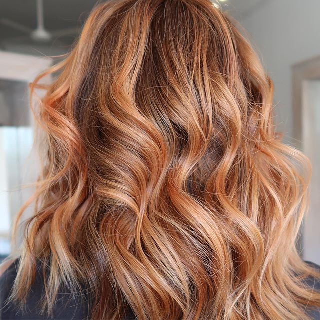 • W A R M T O N E S • beautiful warm tones created and styled by our amazing senior stylist Claire 🔥 this colour was created using #fabpro #STAINO. We are just loving the vibrancy that we get and how's the result when used with a combo of @lakmehair_official colours?! So good 🧡 . . . . . . . #warmtones #redhair #warmhair #copperhair #freshcolour #melbournehairstylist #balayage #melbournehairstylist #melbournehairblogger #melbournehairdresser #melbournehairsalon #hairgoals #haircut #hairstyles #hairbrained #hairoftheday
