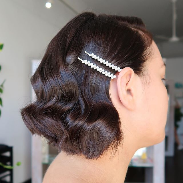 • G L A M • 🤩 we are obsessed with the hair accessories trend at the moment! ✨ adding in a hair clip or pairing two slides together is a super simple way to glam up your look! We especially love this look tucked behind the ear 👌🏽 . . . . . . #hairclips #hairaccessories #haircut #hairstyle #blowdry #weddinghair #glamhair #melbournehairstylist #melbournehairsalon #melbournehairdresser #melbournehairblogger #oribehair #oribestyle #evohair #evorootcanal #blowdry #brunette #freshcut #hawthorn #smallbusiness #melbournesmallbusiness