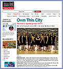 Treble features in Time Out New York