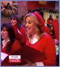 """Treble sings on CBS """"The Talk"""" Holiday special"""