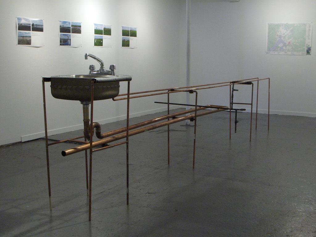 installation view work in progress Struts Gallery, 2009
