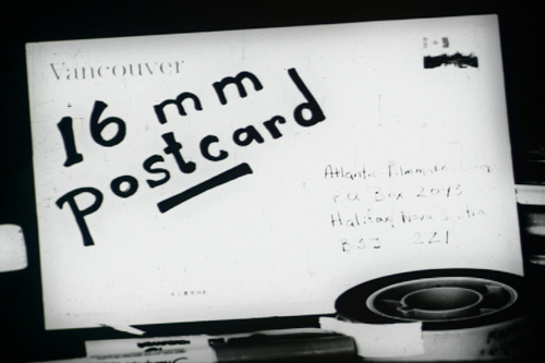 16mm postcard film still