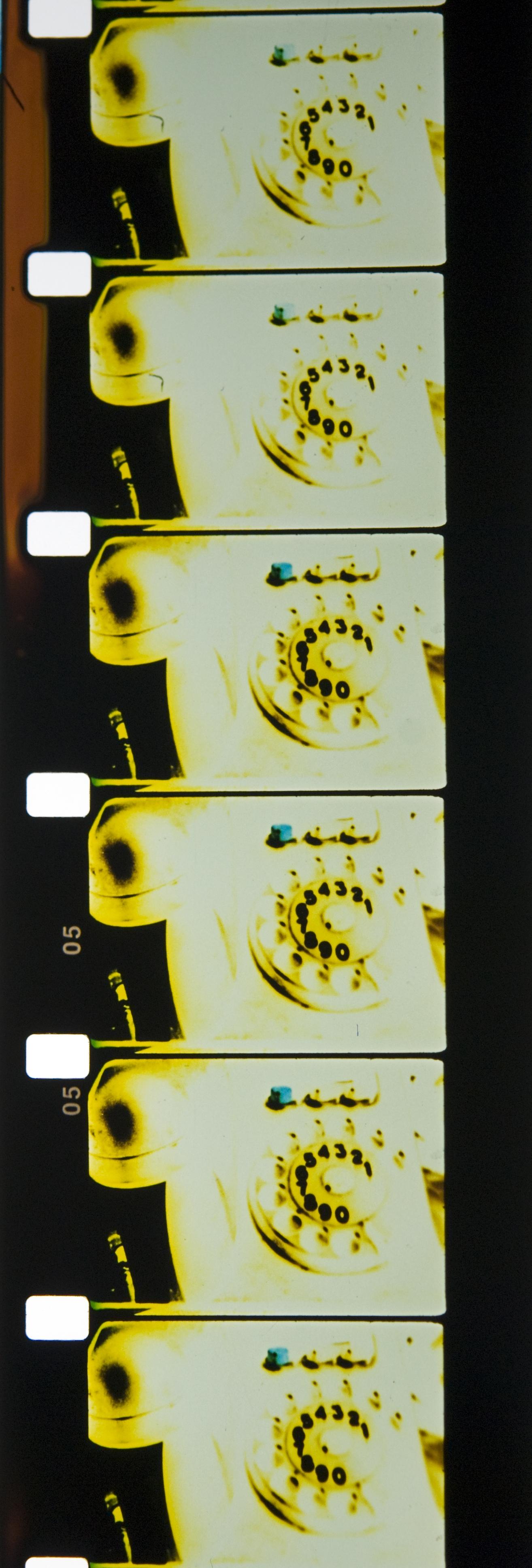 v=d/t film strip