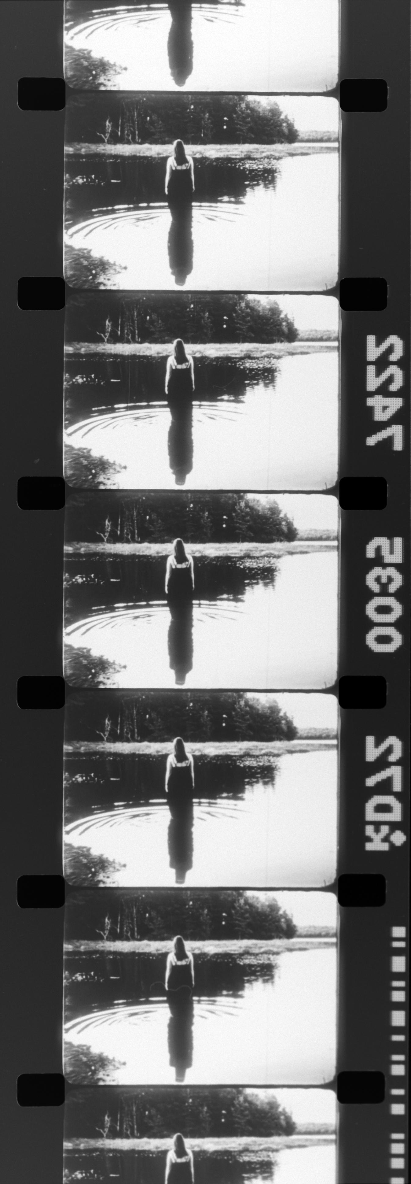 turning film strip
