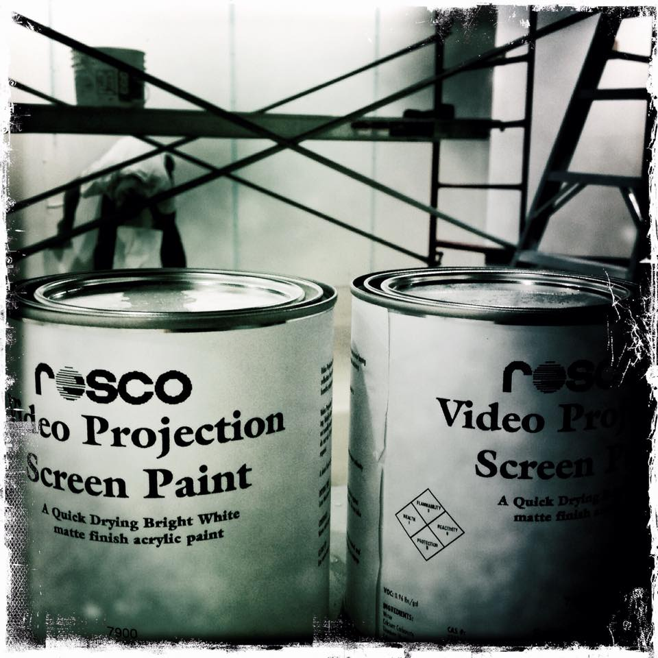screen paint - costly but worth it!