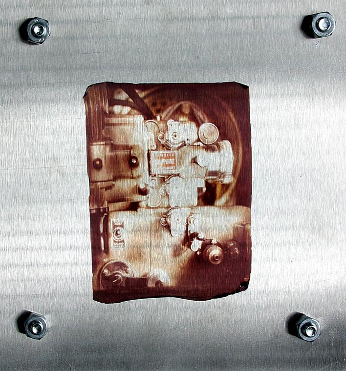 Projector on Steel: 2003