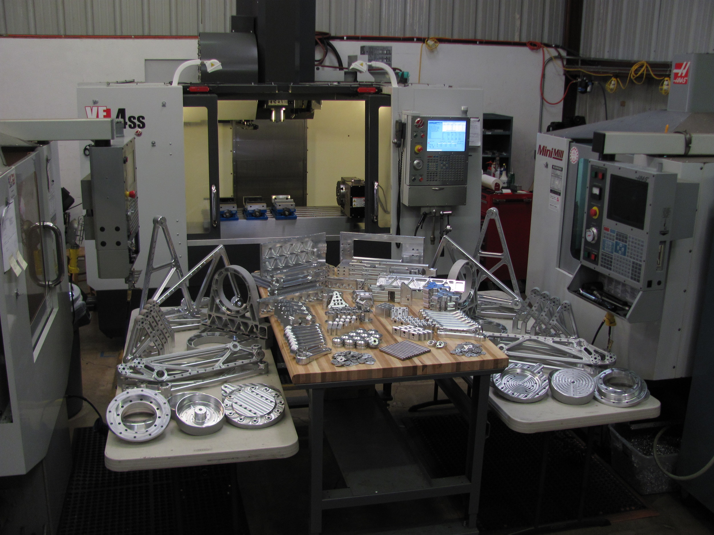 RMD Systems is available for contract design and manufacturing. We specialize in electro-mechanical system design, with a heavy emphasis on aerospace projects and industrial robotic systems.   RMD Systems has relationships with several machine shops and CAD/CAM vendors. With these relationships we are capable of providing the latest in CNC milling, turning, waterjet cutting and other advanced manufacturing tecniques .   We also utilizes the latest CAD software from Solidworks, as well as Solidworks Simulation Professional for FEA (finite element analysis). We also utilize OrCAD for our in-house PCB design. These tools let us deliver durable, reliable turn-key systems with minimal overhead.    Please feel free to contact us with your engineering and analysis needs.