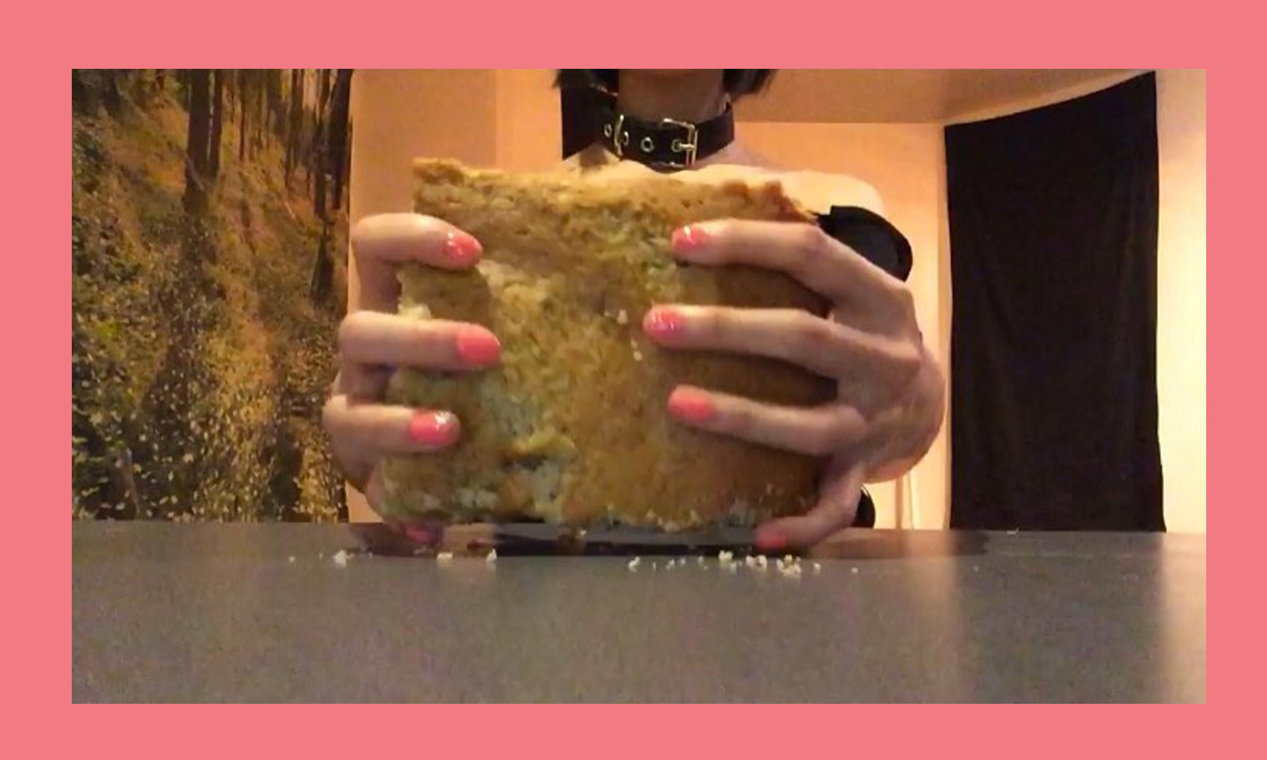 Breadface is an anonymous Instagram account founded by the simple love of smashing one's face into bread. - Banana speaks with the nebulous and viral sensation and baked her a banana bread loaf to get the full experience.Watch our bread get smushed on Instagram
