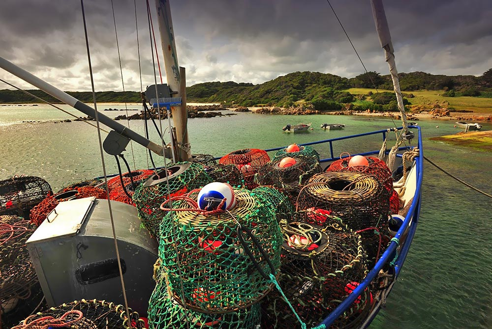 King Island cray boat