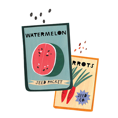 Seed Packets for Taproot Magazine