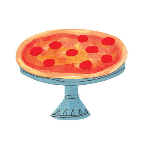 Pizza Pedestal for Local Palate