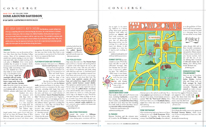 Food Map for Local Palate