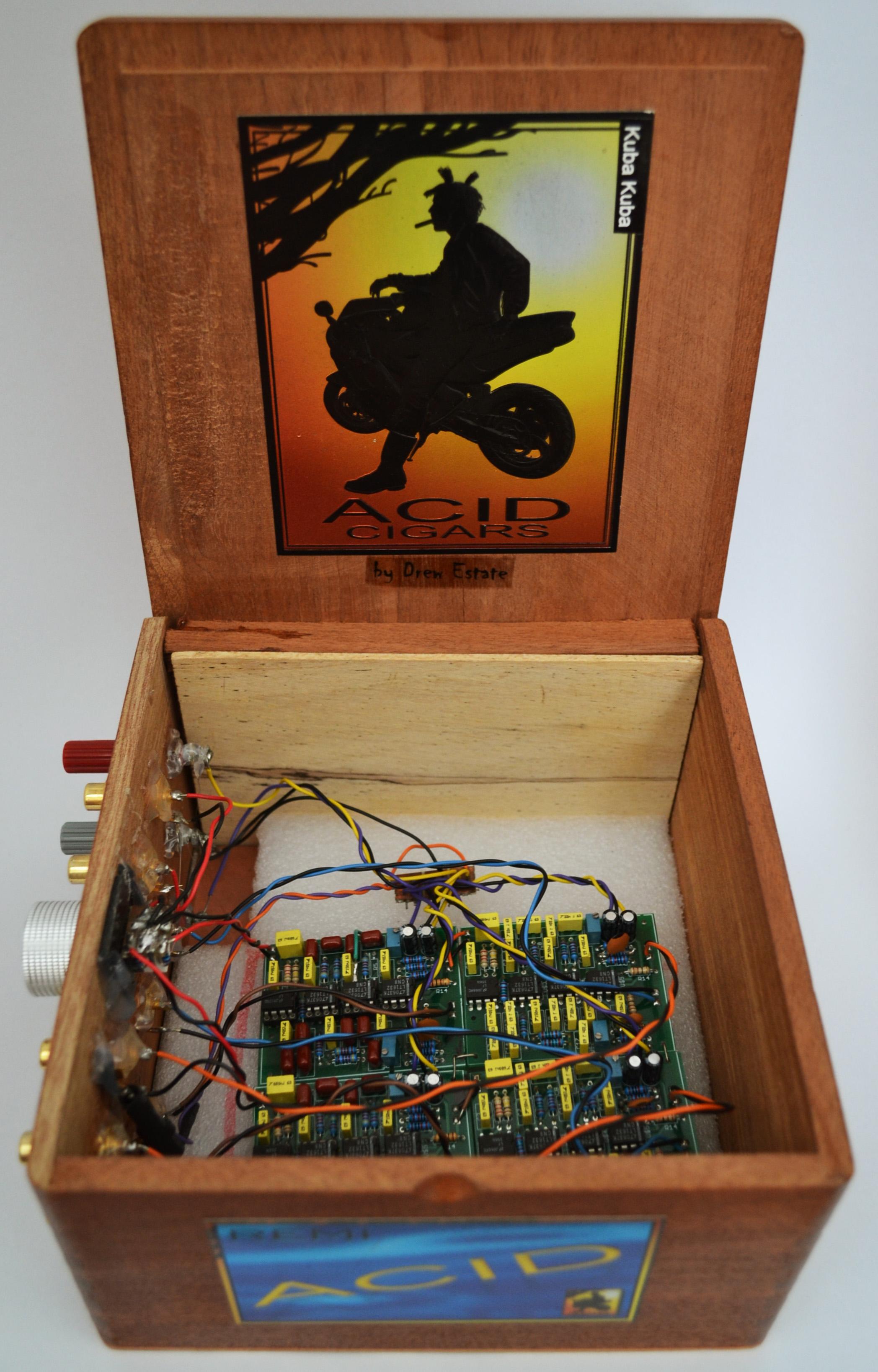 analog signal processor, circa 2013