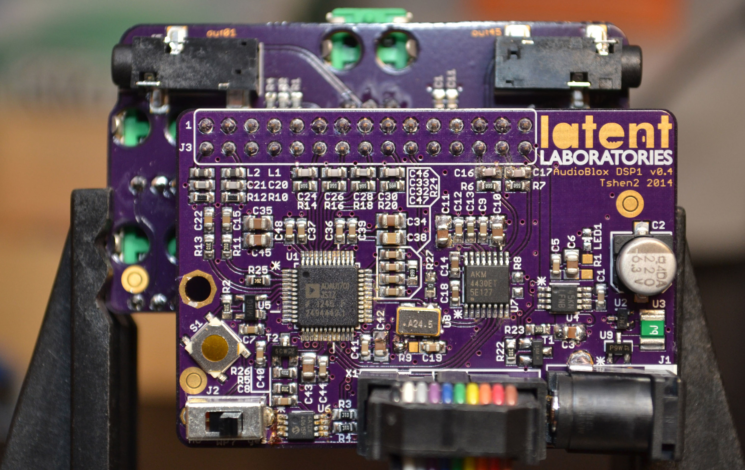 and a DSP 01 board at the back!