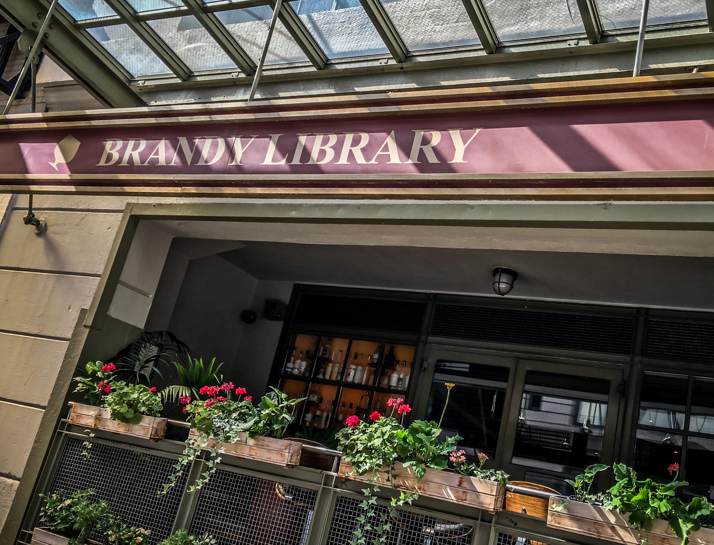 bourbon tour - brandy library1.JPG