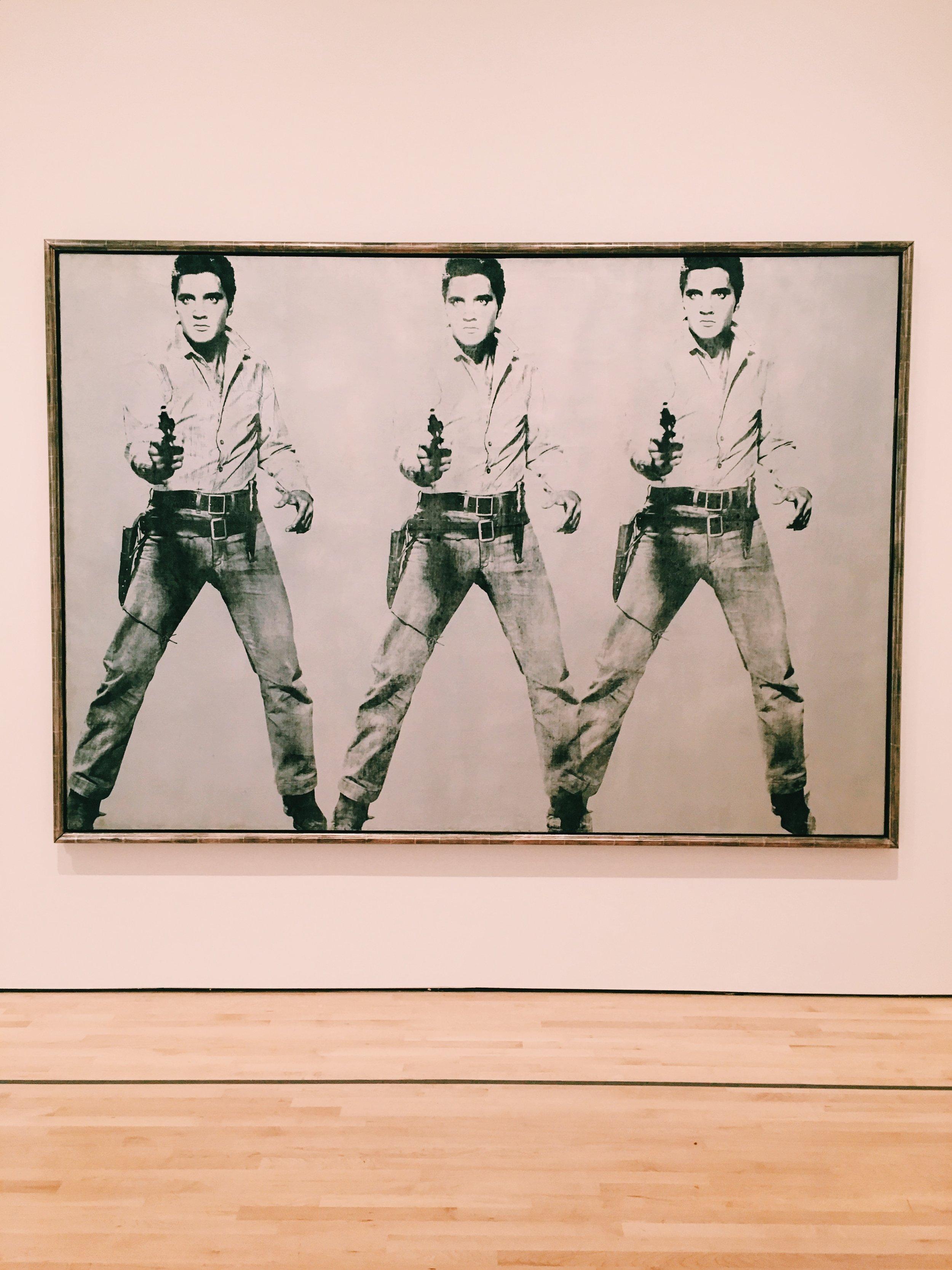 Elvis Andy Warhol