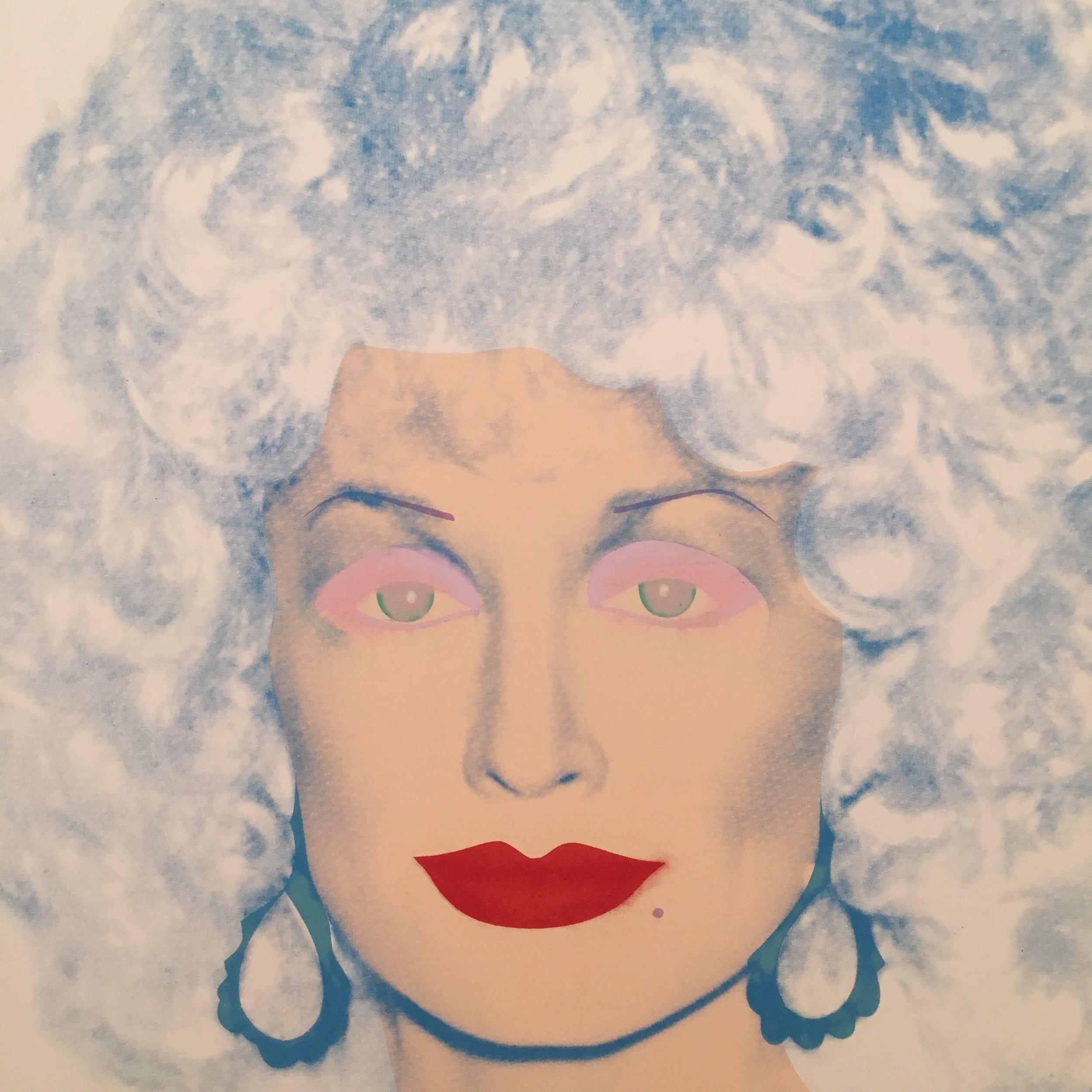 Dolly Parton Andy Warhol