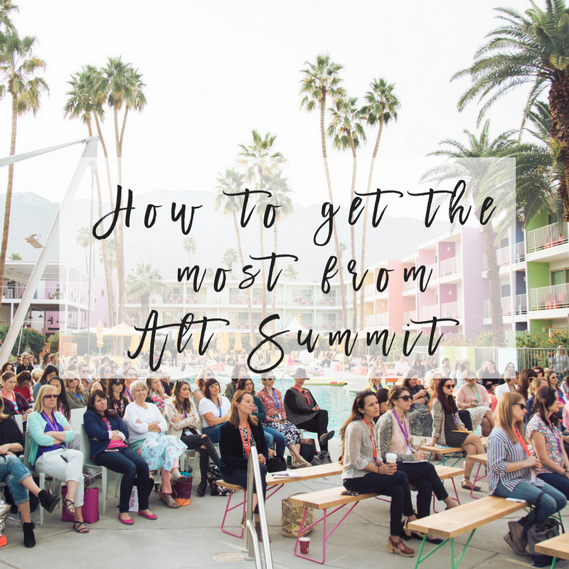how to get the most from alt summit