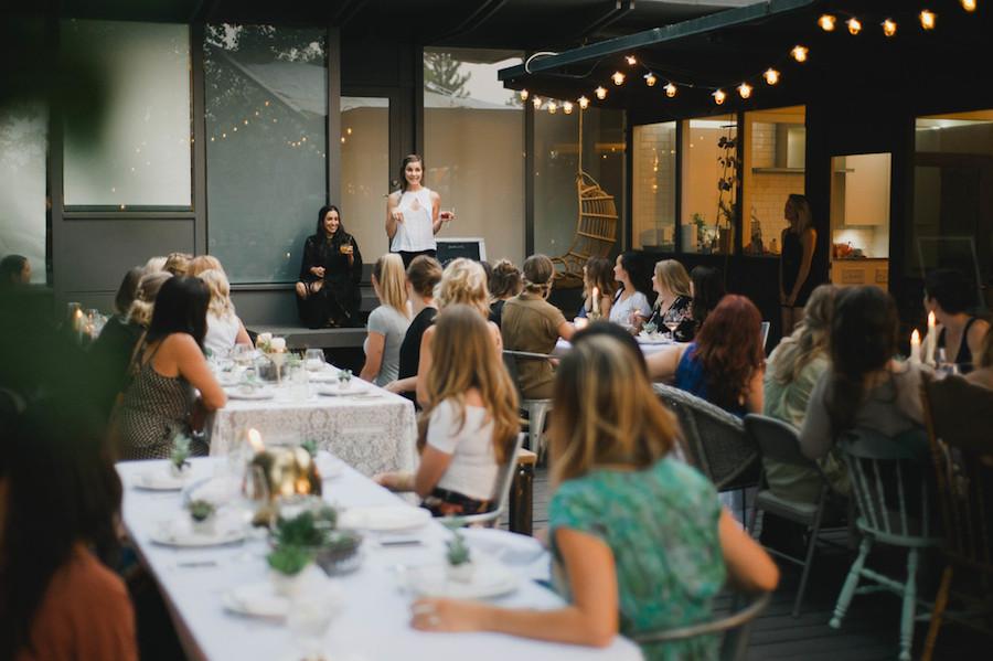 Darling Dinner event | Redding, Ca